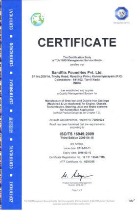 ISO/TS 16949:2009- UNIT I