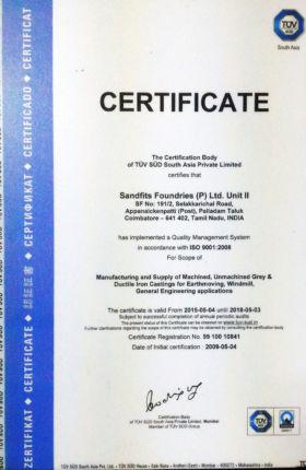 ISO 9001:2008- UNIT II