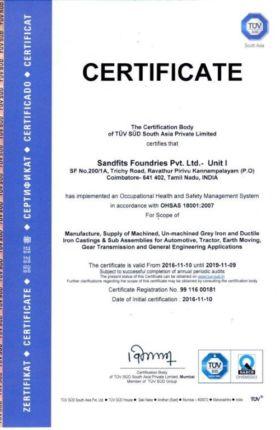 OHSAS 18001:2007-UNIT I