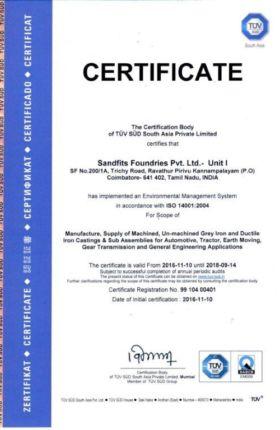 ISO 14001:2004-UNIT I